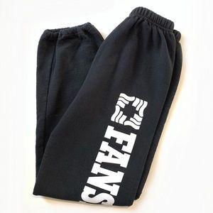 Fanshawe College Black Sweatpants